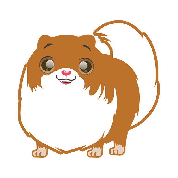Pom Pom Pomeranian Stickers messages sticker-4