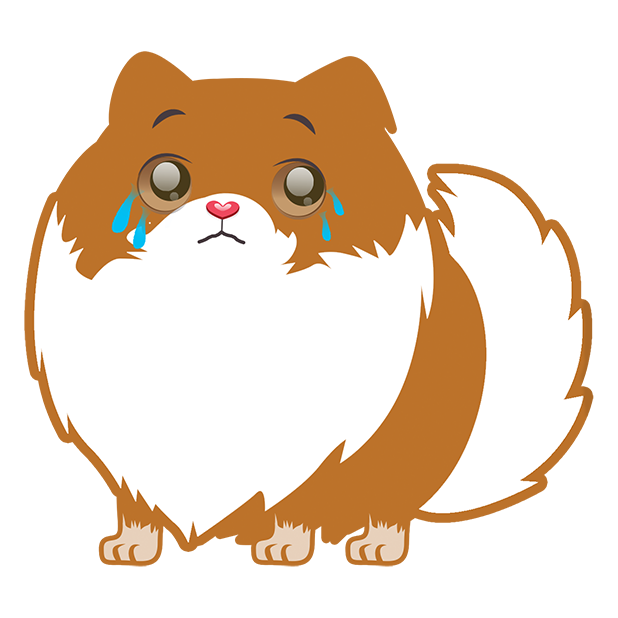 Pom Pom Pomeranian Stickers messages sticker-7