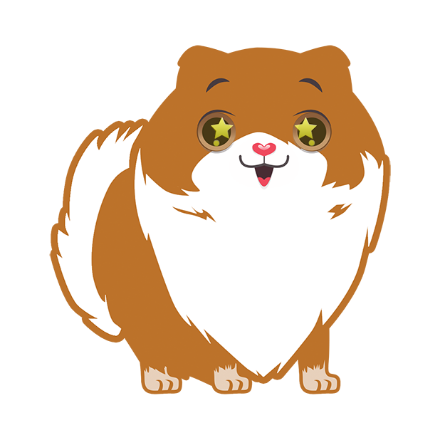 Pom Pom Pomeranian Stickers messages sticker-5