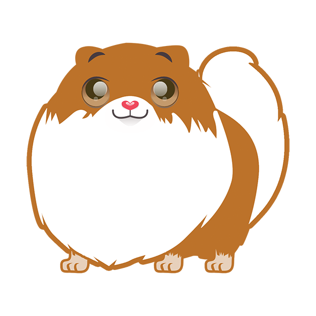Pom Pom Pomeranian Stickers messages sticker-9