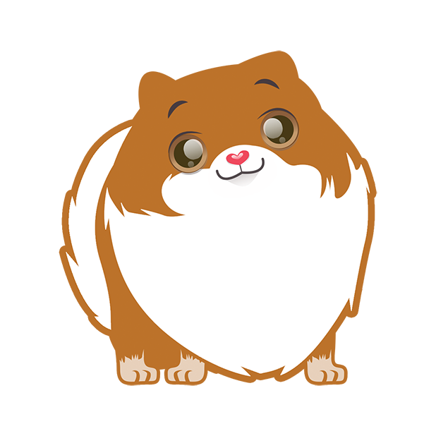 Pom Pom Pomeranian Stickers messages sticker-6