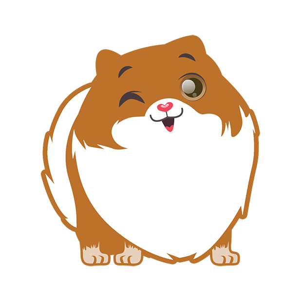 Pom Pom Pomeranian Stickers messages sticker-2
