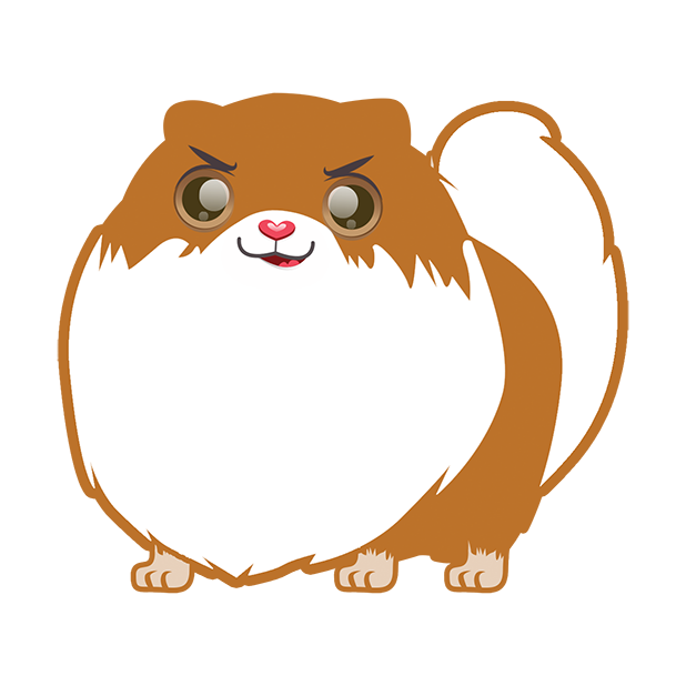 Pom Pom Pomeranian Stickers messages sticker-8