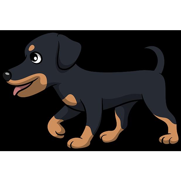 Rottwemoji - Rottweiler Emoji & Stickers messages sticker-3