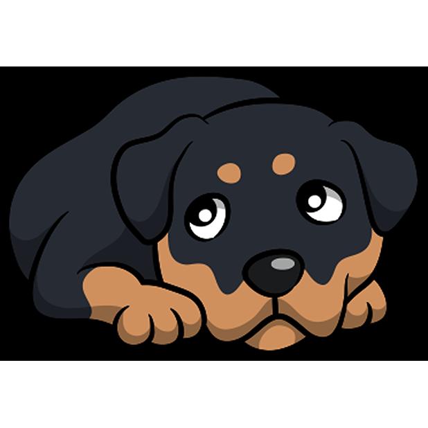 Rottwemoji - Rottweiler Emoji & Stickers messages sticker-7