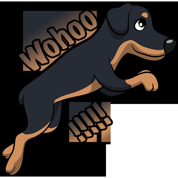 Rottwemoji - Rottweiler Emoji & Stickers messages sticker-9