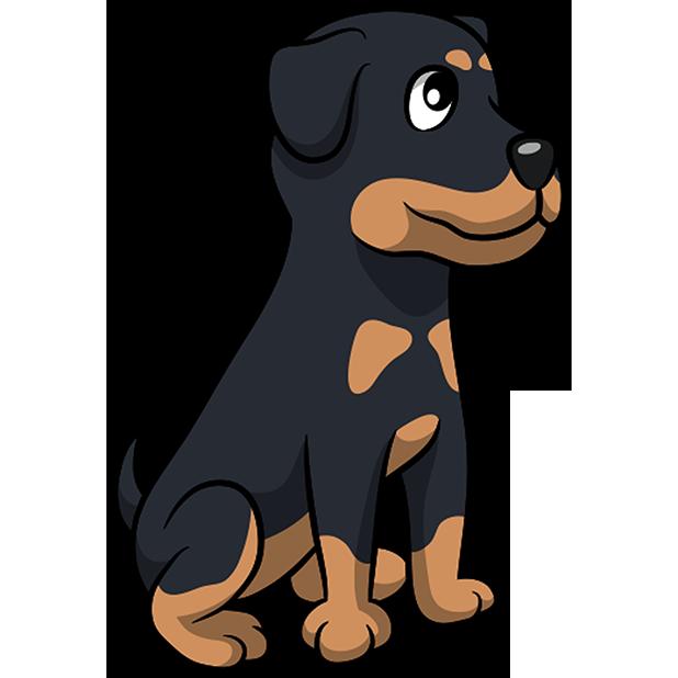 Rottwemoji - Rottweiler Emoji & Stickers messages sticker-5