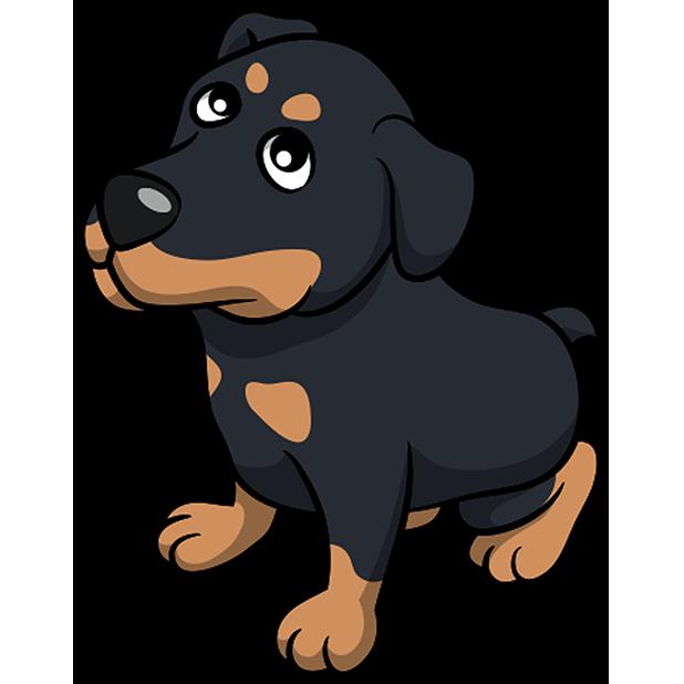 Rottwemoji - Rottweiler Emoji & Stickers messages sticker-4