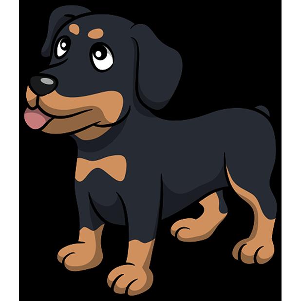 Rottwemoji - Rottweiler Emoji & Stickers messages sticker-0