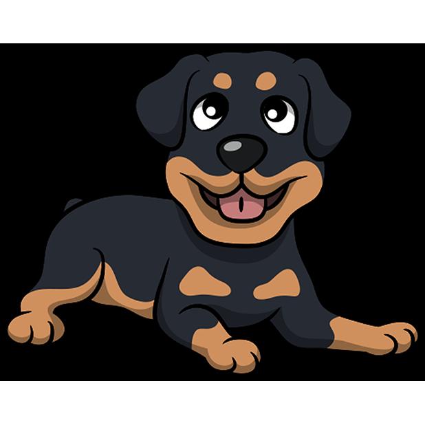 Rottwemoji - Rottweiler Emoji & Stickers messages sticker-2