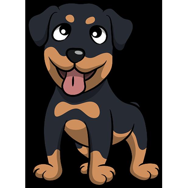 Rottwemoji - Rottweiler Emoji & Stickers messages sticker-1