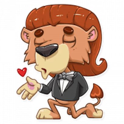 King Leo - Stickers for iMessage messages sticker-1