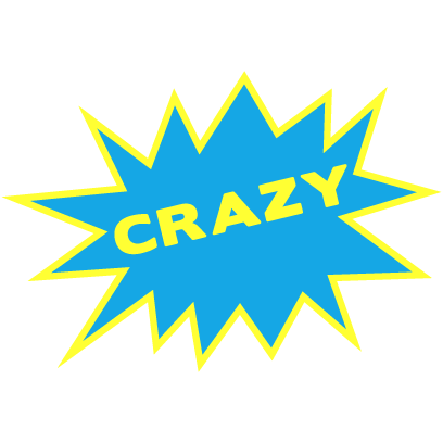 AJ Mendez Brooks Crazy Is My Superpower Stickers messages sticker-9