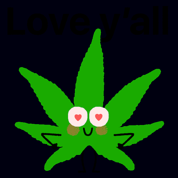Weed by Mojimade messages sticker-2