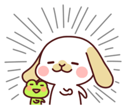 Kiki Dog Lovely 3 messages sticker-3