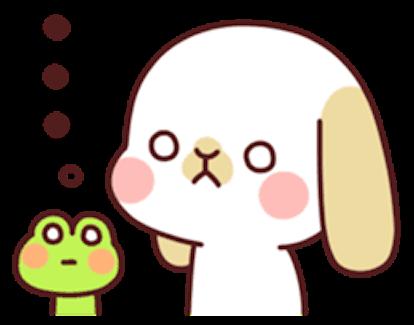 Kiki Dog Lovely 3 messages sticker-5