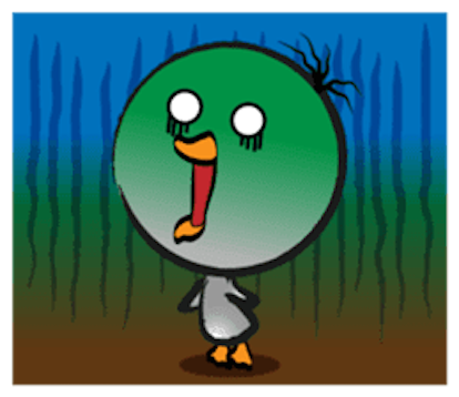 Mun Mun Duck messages sticker-9