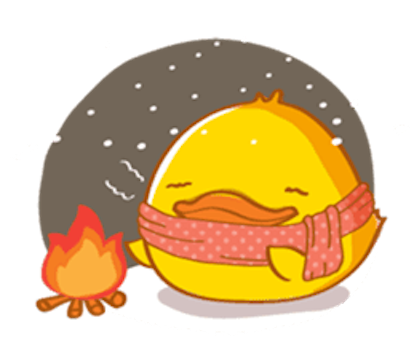 Fat Funny Duck messages sticker-7