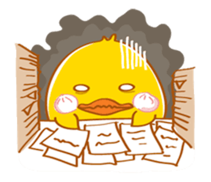 Fat Funny Duck messages sticker-9