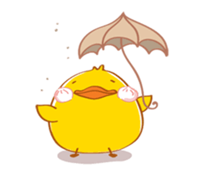 Fat Funny Duck messages sticker-8
