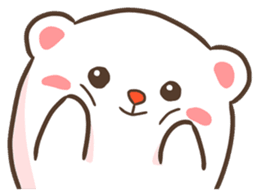Lovely Bear and Rabbit messages sticker-1