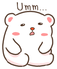 Lovely Bear and Rabbit messages sticker-2