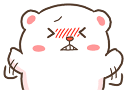 Lovely Bear and Rabbit messages sticker-4