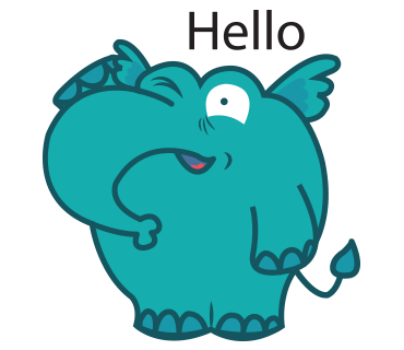 Manny the Cute Elephan Stickers for iMessage messages sticker-5