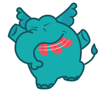 Manny the Cute Elephan Stickers for iMessage messages sticker-8