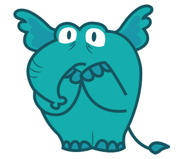 Manny the Cute Elephan Stickers for iMessage messages sticker-1