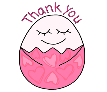 Happy Bunny Egg Stickers for Easter Day messages sticker-2