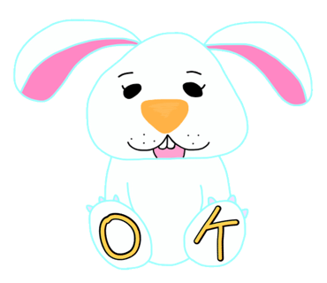 Happy Bunny Egg Stickers for Easter Day messages sticker-0