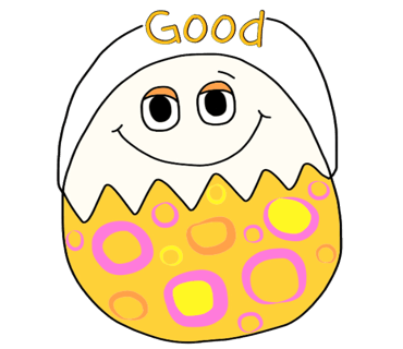 Happy Bunny Egg Stickers for Easter Day messages sticker-3