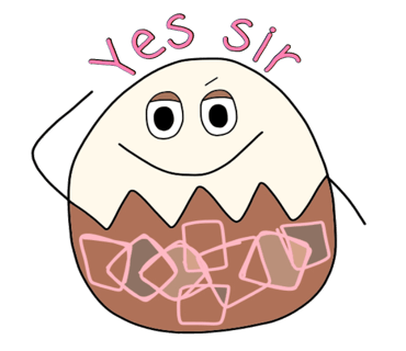 Happy Bunny Egg Stickers for Easter Day messages sticker-10