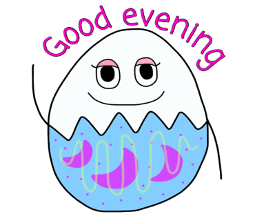 Happy Bunny Egg Stickers for Easter Day messages sticker-5