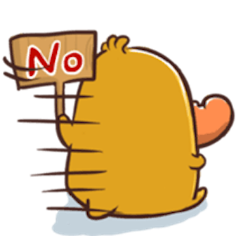 Funny QuackQuack messages sticker-7