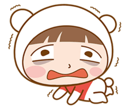 Baby Bear Girl messages sticker-11