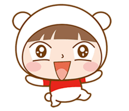 Baby Bear Girl messages sticker-2