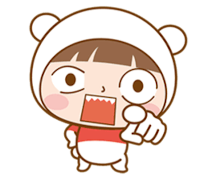 Baby Bear Girl messages sticker-9