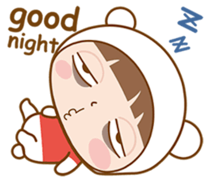 Baby Bear Girl messages sticker-6