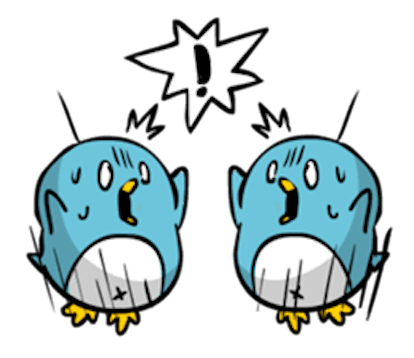 Baby Blue Penguin messages sticker-10