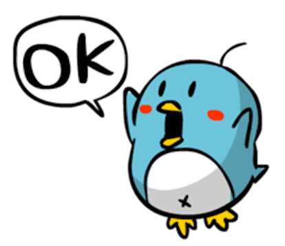 Baby Blue Penguin messages sticker-2