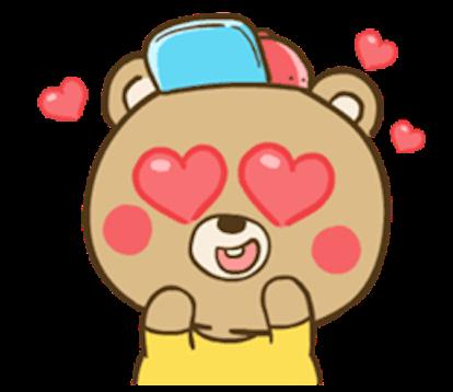 Chuppy Baby Bear messages sticker-1