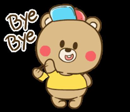 Chuppy Baby Bear messages sticker-7