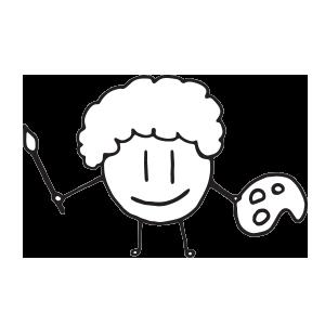 Croquetilla Stickers messages sticker-2