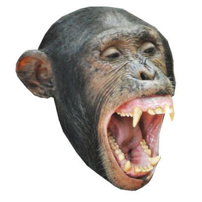 Monkey Head messages sticker-2