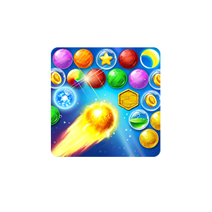 Pop Bubble Crush;Witch shooter messages sticker-1