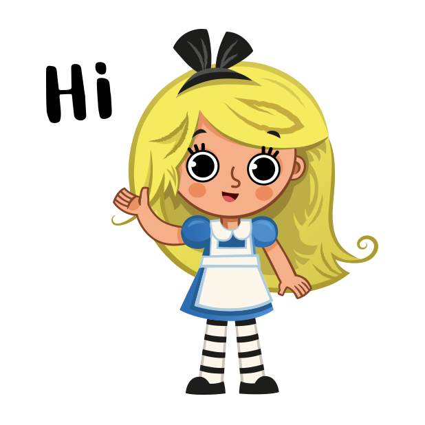 Alice in Stickerland messages sticker-0