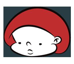 Mushroom Man Stickers messages sticker-7