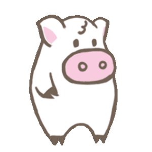 Toto Pig - Adorable Piggy Couple Animated Stickers messages sticker-1
